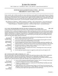 Sample Resume Online by Retail Executive Resume Example Executive Resume Resume