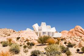 check out this amazing joshua tree home made out of shipping