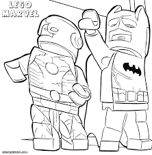 lego marvel superheroes coloring pages line drawings 3262