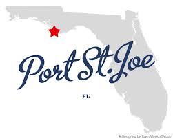 port st fl map map of port st joe fl florida