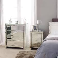 Bedroom Set Groupon Bedroom Elegant Mirrored Bedroom Furniture Mirrored Desk For Sale
