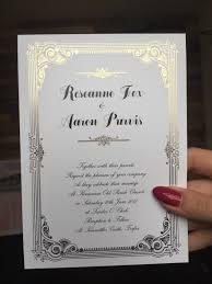 gold foil wedding invitations u2013 ballymena u2013 perfect day print