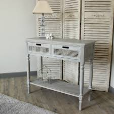 hallway table with storage vintage grey washed living console table storage unit hallway living
