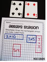 Drawing Conclusions Worksheets 4th Grade Miss Giraffe U0027s Class How To Teach Arrays