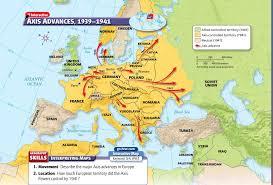 Europe Map Ww1 by Ms Alia Abuoriban Social Studies