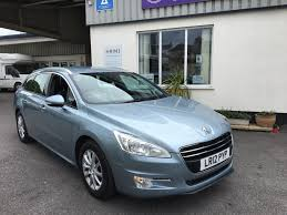 peugeot executive car used peugeot 508 blue for sale motors co uk