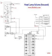 the 1991 unified head light schematic i made