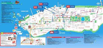 map ny city map of new york city attractions printable major pleasing