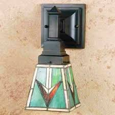 Mission Wall Sconce Tiffany Stained Glass Wall Sconce U0026 Two Light Wall Lighting All