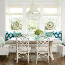 Beachy Kitchen Table by L A Holiday Home Tour Coastal Living
