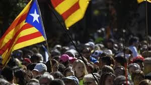 news update catalan independence rally thousands gather in