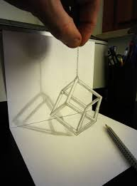 pencil simple 3d sketches drawing of sketch