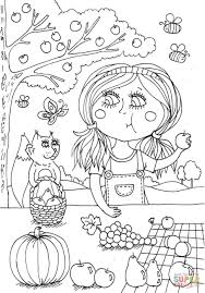 peppy in august coloring page free printable coloring pages