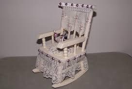 Mini Rocking Chair Altered Mini Rocking Chair Pincushion Youtube