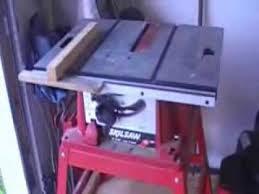 skil portable table saw diy table saw dust collector youtube