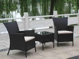Desig For Black Wicker Patio Furniture Ideas The Most Brilliant Black Wicker Outdoor Furniture For
