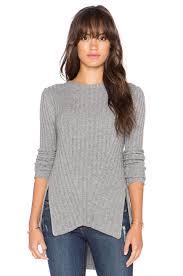 Autumn Cashmere Rib Drape Cardigan Collection Of Autumn Cashmere Sweater Blanket Stitch Crew Sweater