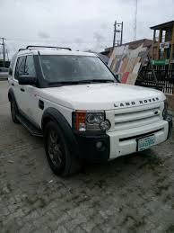 land rover lr3 white 2005 white lr3 up 4 grabs sold autos nigeria