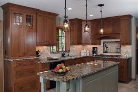 french country bronze amber art glass kitchen island southeastern wisconsin kitchens bartelt the remodeling resource