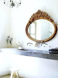 Vintage Bathroom Mirror Fashioned Bathroom Mirrors Bathroom Mirrors Gold Vintage