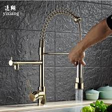 kitchen faucet outlet style gold kitchen faucet brushed brass faucet pull out