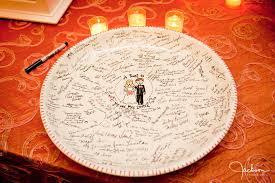 guest book platter wedding guest book plate alternative guest book