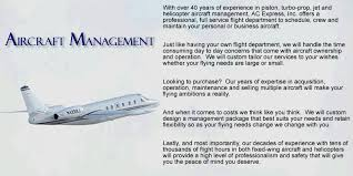 West Virginia travel management company images Ac express inc a west virginia based aircraft charter and gif