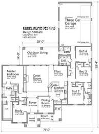 Modern One Story House Plans Great Floor Plan Southern Living House Plans Pinterest