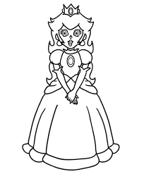 coloring pages of mario characters princess peach mario coloring page girls coloring pages mario