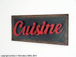 panneau bois décoratif cuisine décoration brocante seb13796
