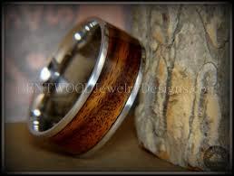 custom metal rings images Bentwood rings rosewood wooden rings stainless steel ring core jpg