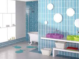 bathroom decor for kids with white wall ideas home bathroom cute kids bathroom with striped blue white wall and white