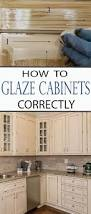 Kitchen Glazed Cabinets How To Glaze Cabinets Correctly Glaze Learning And Kitchens