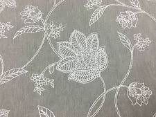 Embroidered Linen Curtains Embroidered Linen Fabric Ebay