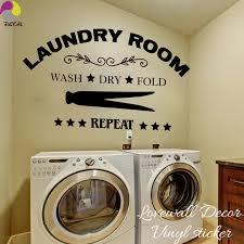 laundry room signs wall decor laundry room wall sticker wash fold repeat laundry room
