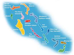 Nassau Map Bahamas Bareboat Charter Exumas Nassau Georgetown Navtours
