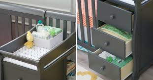 Mini Crib With Attached Changing Table Mini Crib With Changing Table Attached Pictures Ideas Rs Floral