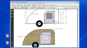 Teardrop Trailer Plans Free by Teardrop Trailer Plans Part 8 Youtube