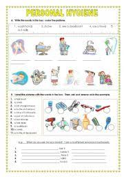 personal hygiene worksheet free worksheets library download and