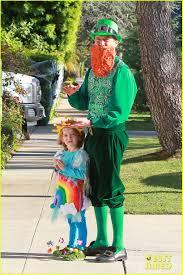 paul ryan halloween mask alyson hannigan u0026 family leprechaun hallowen costume 2013 photo
