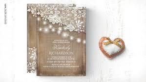 rustic bridal shower invitations bridal shower wedding invitations by jinaiji
