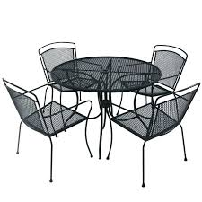 wrought iron patio table and chairs small wrought iron table bfkautism com
