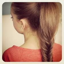 fluffy fishtail braid hairstyles for long hair cute girls