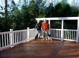 decks patios fences screened porches skye builders custom