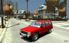 jeep cherokee fire jeep cherokee 1984 for gta 4