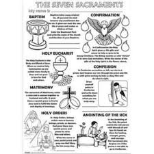 7 sacraments coloring pages