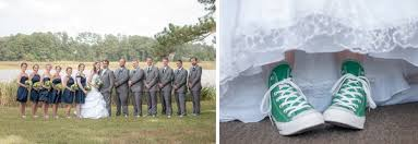 quirky kelly green converse themed wedding tidewater and tulle