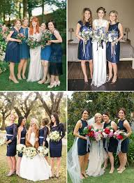 beautiful in blue navy bridesmaids dresses onefabday com