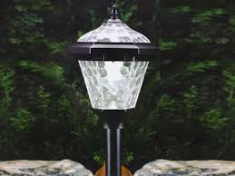westinghouse solar landscape light set illuminating your garden with solar path lighting in westinghouse