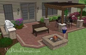 My Patio Design Backyard Patio Design Plans
